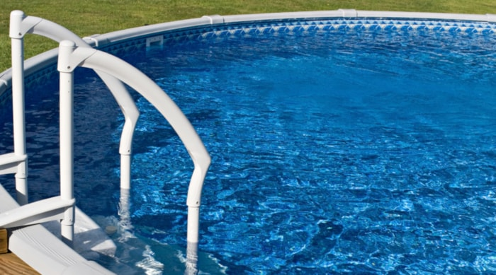 above ground pool with pool liner