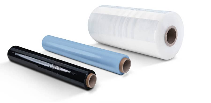 Rolls of Plastic Film